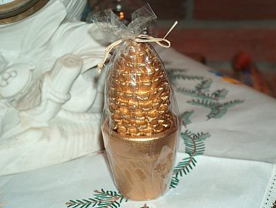 Weihnachtsbaum-Kerze