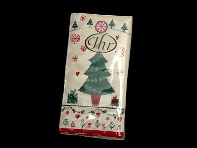 Weihnachtsbaum-Papiertaschentücher