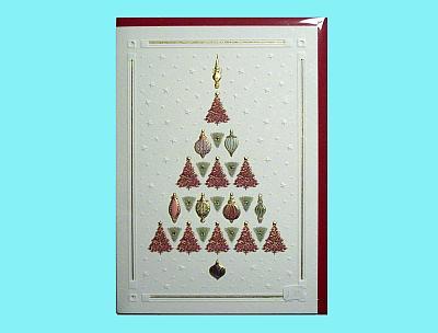 Weihnachtsbaum-Karte