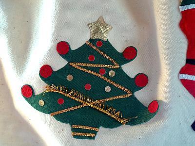Weihnachtsbaum-Motiv