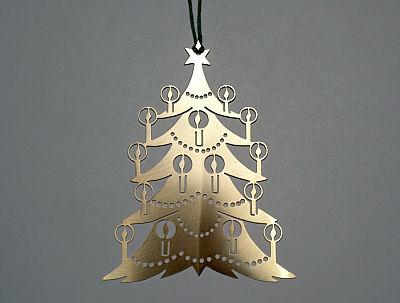 Blech-Weihnachtsbaum