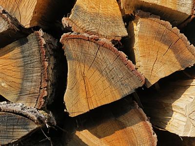 Brennholzscheite
