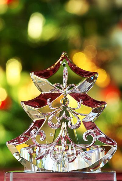 Glasweihnachtsbaumdekoration