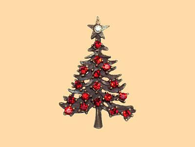 Glitzerweihnachtsbaum
