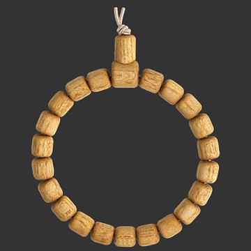 Wunschbaum-Armband aus Götterbaum-Holz