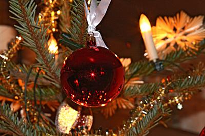 Weihnachtsbaum an Heilig Abend 2009