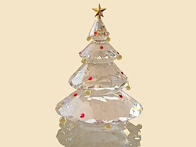 Swarovski-Weihnachtsbaum
