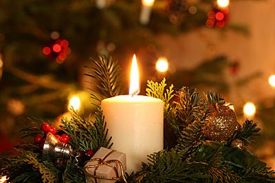 Weihnachtliches Gesteck