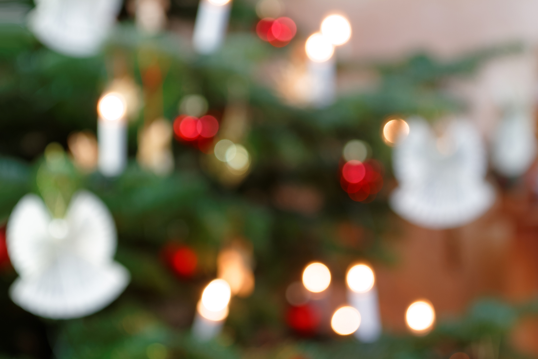 Weihnachtsbaumdekoration - Bokeh Hintergrund I