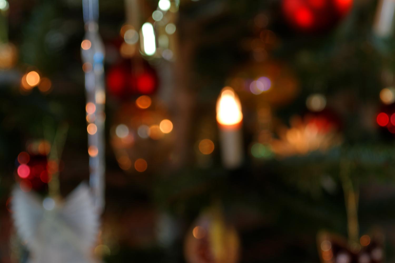 Weihnachtsbaumdekoration - Bokeh Hintergrund III