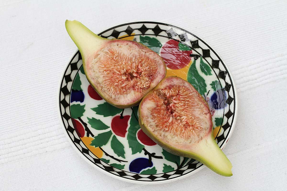 Aufgeschnittene Frucht