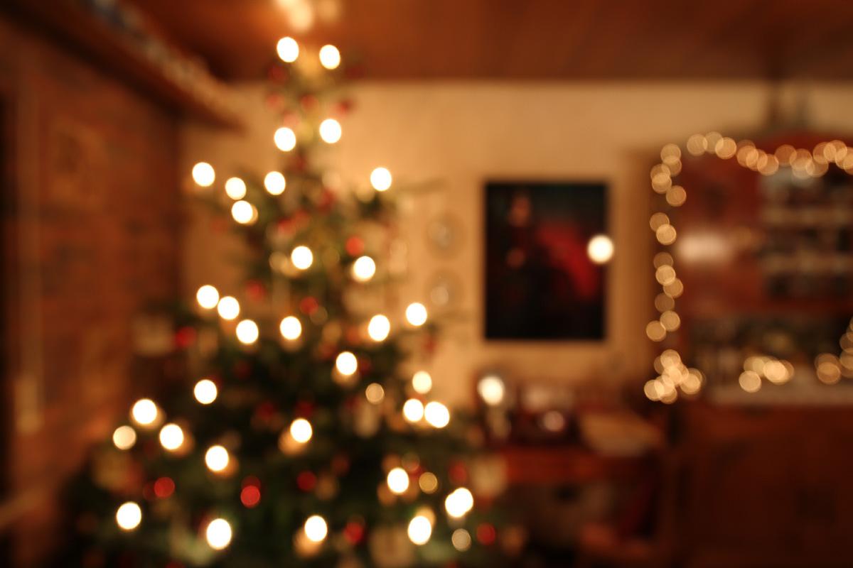 Weihnachtszimmerimpression