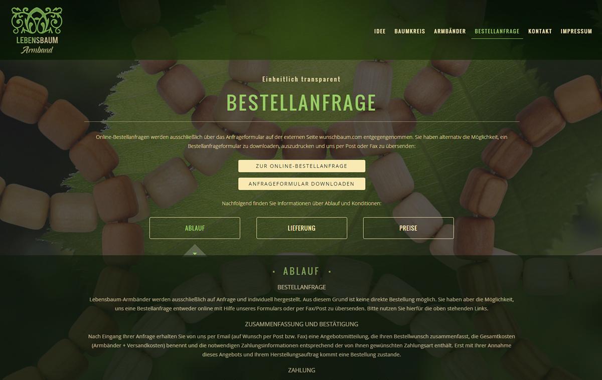 lebensbaum-armband.de - Screenshot 6