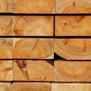 Hirnholzansicht gestapelter Kiefernbohlen I, aus: Hirnholztexturen